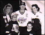 Wayne and Janet Gretzky with   Matti Contopulos at Tip-A-King