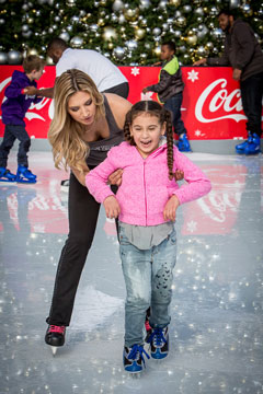 Holiday On Ice 2015 skater with Kings Ice Crew