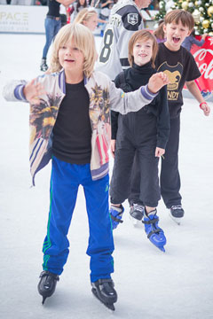 Holiday On Ice 2017 skater boys