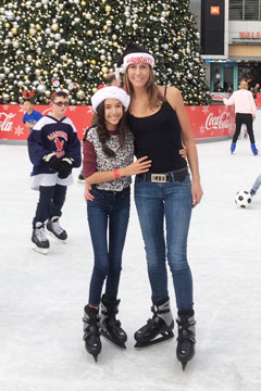 Holiday On Ice 2017 Vickie and Emma