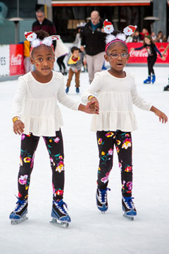 Holiday On Ice 2018 skaters